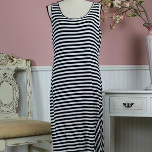 Calvin Klein Long Knit Dress Size 14